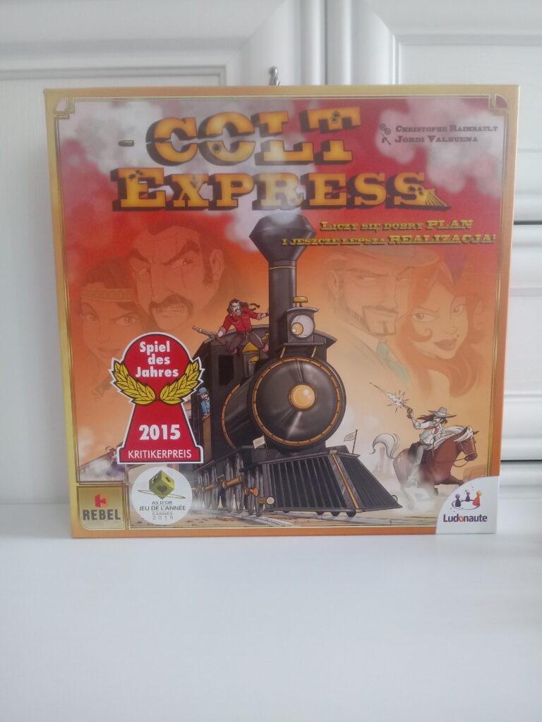 Colt Express - pudełko z grą