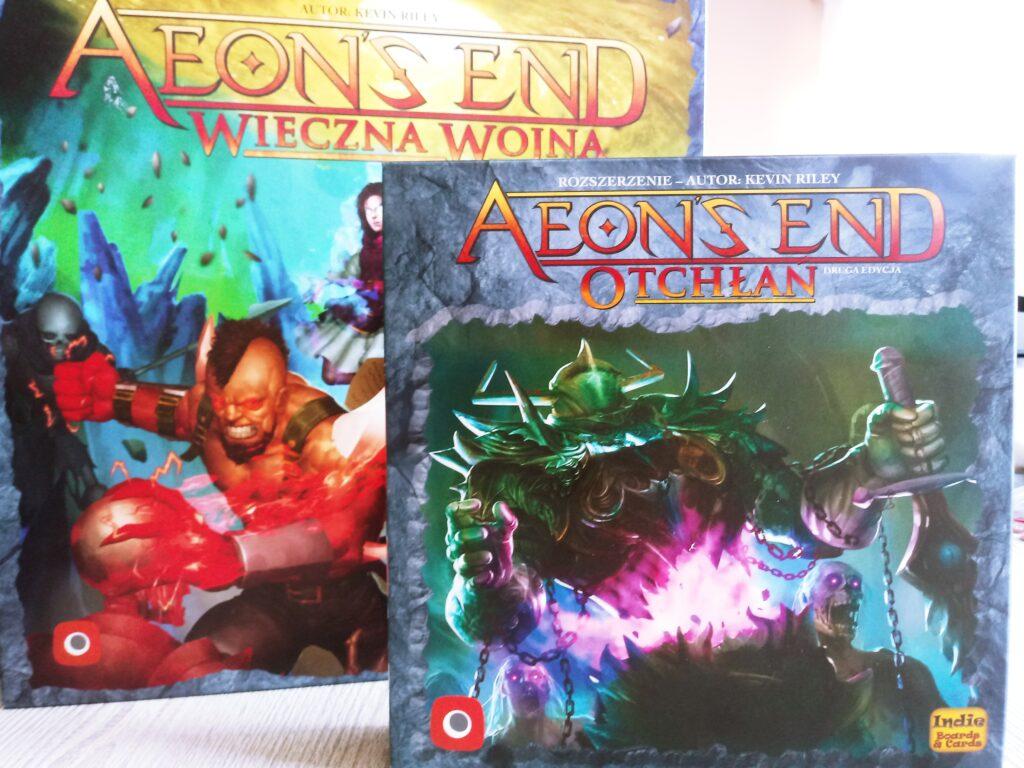 Pudełko z dodatkiem Otchłań do gry Aeons End