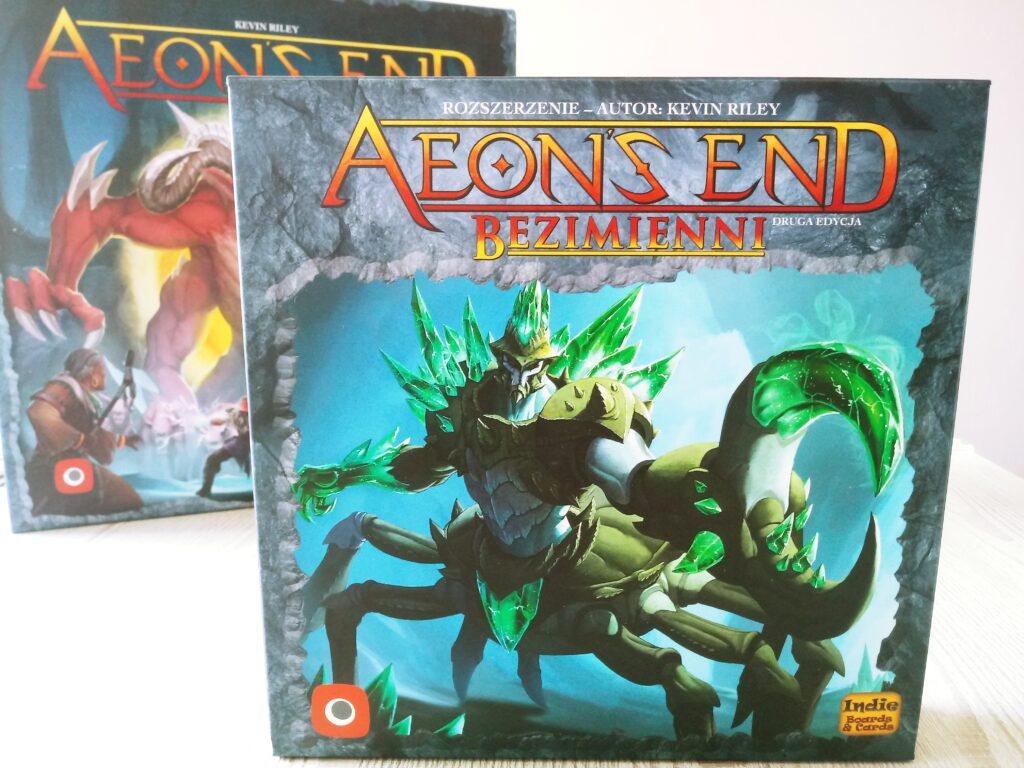 Pudełko z dodatkiem Bezimienni do gry Aeons End