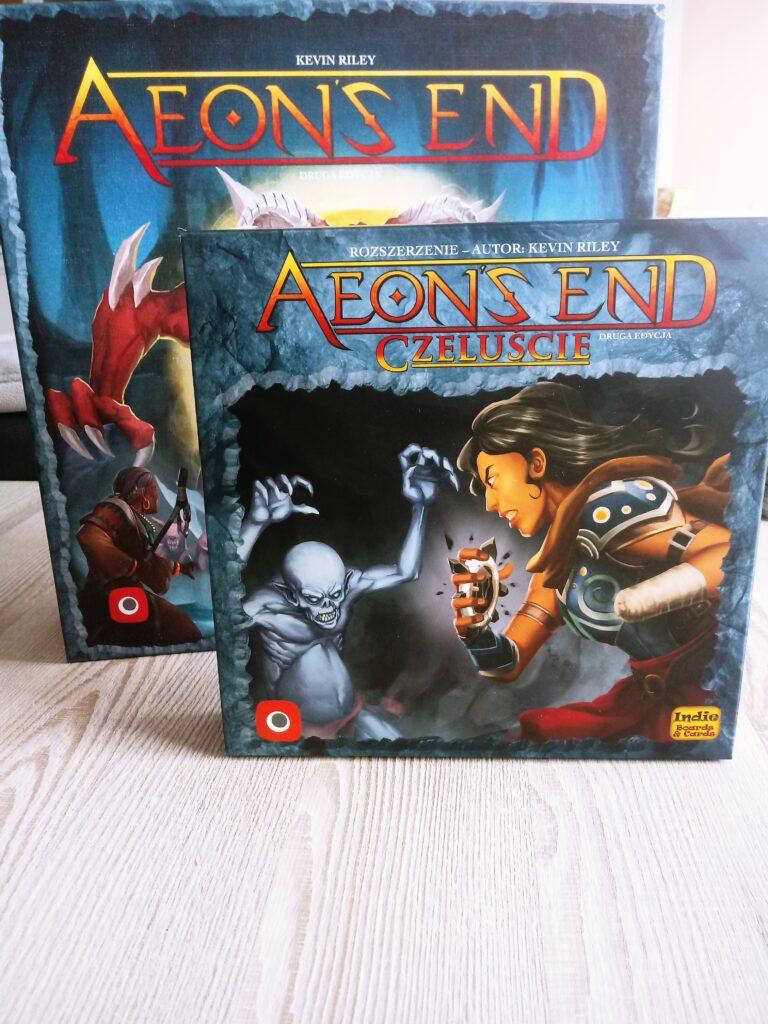 Pudełko z dodatkiem Czeluście do gry Aeon's End