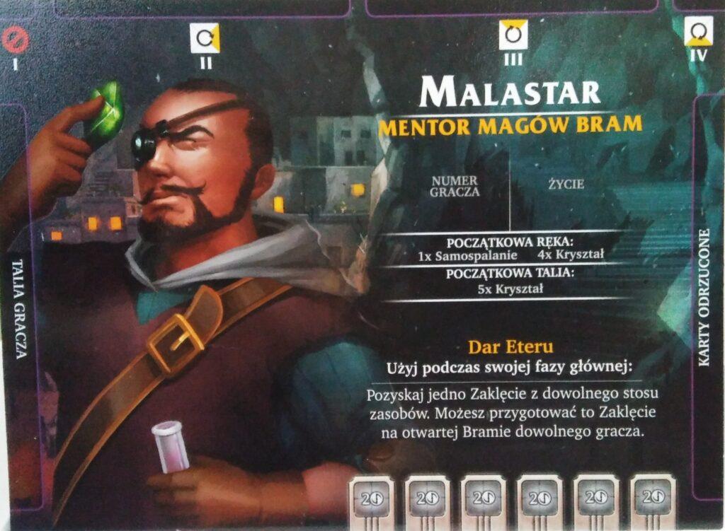 Malastar - mag bram z dodatku Bezimienni do gry Aeon's End