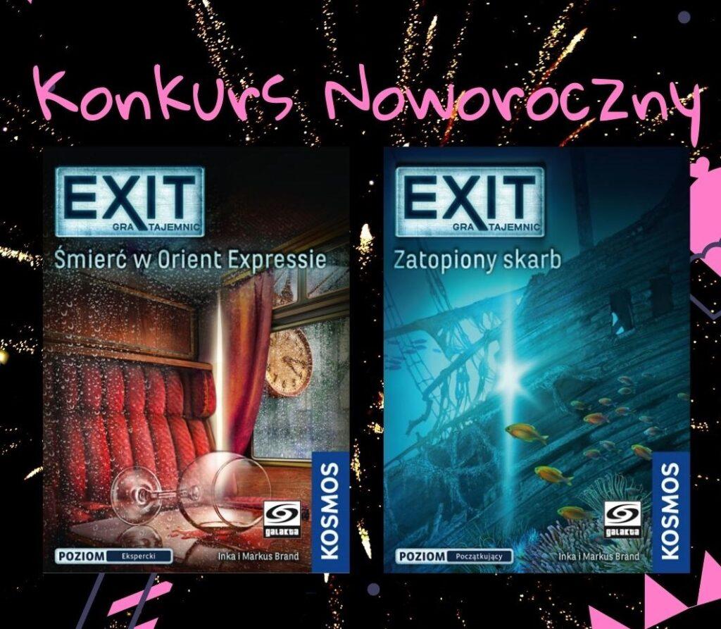 Konkurs noworoczny, wygraj exit - gra tajemnic