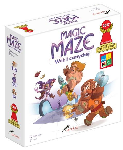 Magic Maze - pudełko