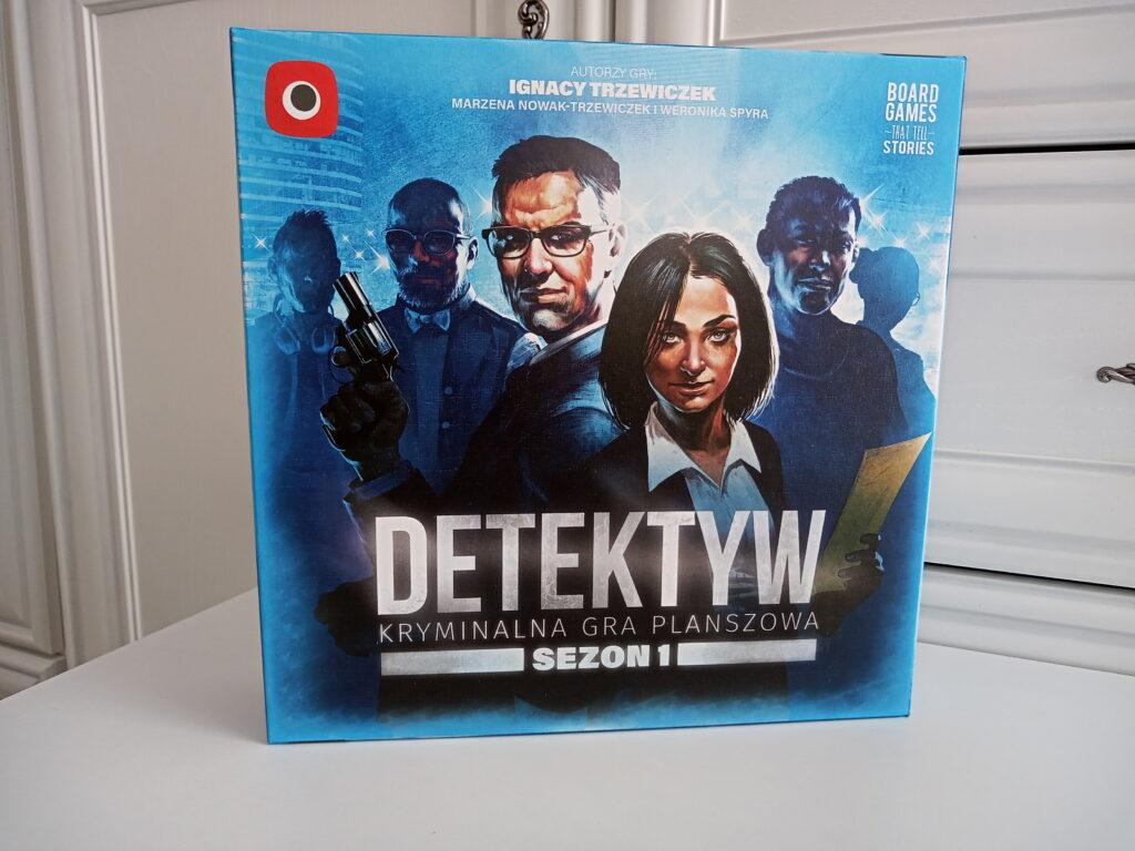 Pudełko gry Detektyw: sezon pierwszy