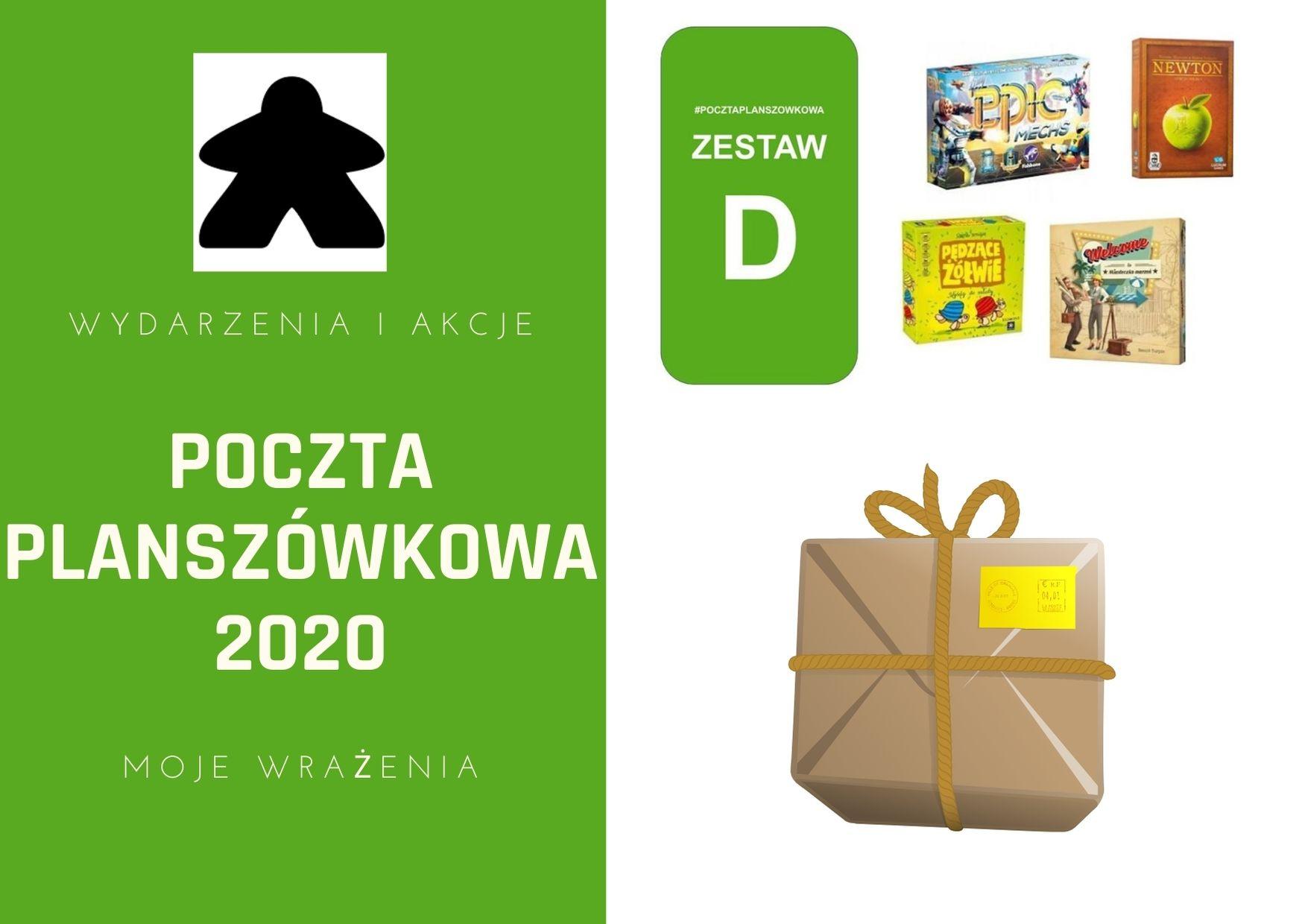 poczta planszówkowa 2020